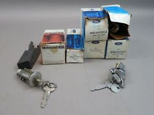Lot of OEM Ford 1976/1991 Granada, Full Size Car Trunk Keys and Lock Cylinder