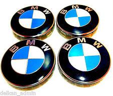 4x BMW 68mm Mittel Radabdeckungen Anzug - Alle Modelle mit Original Oem
