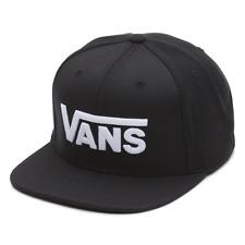 VANS Drop V II Snapback Hat Black White SS 2018 Baseball Cap Skate Snow