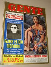 GENTE=1976/18=CAROLE ANDRE=NORA RICCI=UGO SPIRITO=DIVO BARSOTTI=MARIO SALVI=