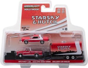 STARSKY & HUTCH TV SERIES SET HOLLYWOOD HITCH & TOW 5 1/64 BY GREENLIGHT 31060 A