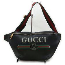 Gucci Shoulder Bag  Black PVC 1401732