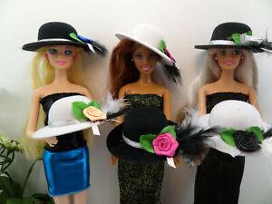 💙 Puppen HUT 💙 KLEIDUNG für Mode Puppen: NORMAL, CURVY ........