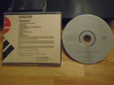 RARE ADVANCE PROMO Erasure CD s/t 1995 Yazoo DEPECHE MODE Diamanda Galas Ritz !