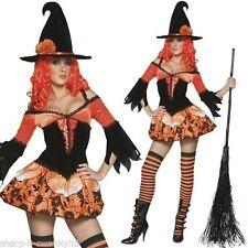 Markenlose Damen-Kleider mit Hexen-Thema