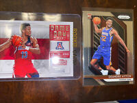 Deandre Ayton Rookie Lot Of 2 Prizm And Contenders