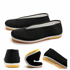 Traditional Tai-Chi /Kung Fu Shoes Unisex Canvas Sport Slipper Shoes Rubber Sole