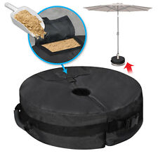 """Heavy Duty 18"""" Round Sand Weight Bag Base for Patio Umbrella or Flagpole Outdoor"""