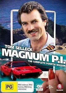 Magnum P.I. : Season 4 (DVD, 2016, 6-Disc Set) brand new sealed - free post!