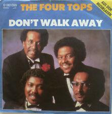 "7"" 1981 KULT ! FOUR TOPS : Don´t Walk Away // VG+ \"