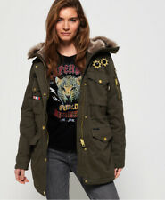 Superdry Womens Rookie Rock Royalty Parka Jacket