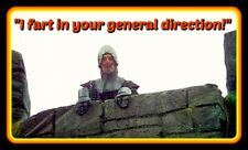 """4.5"""" Monty Python Holy Grail vinyl sticker. """"I Fart in Your Direction!"""" decal."""
