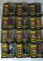 NEW 2020 SPIN MASTER DC CAPED CRUSADER 12 PIECE ACTION FIGURES LOT