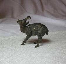 Baby Chamoix Deer Austrian Vienna Bronze c1900 Bergmann Antique Miniature Wiener