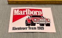 Aufkleber Marlboro Abenteuer Team 1989 Autocollant