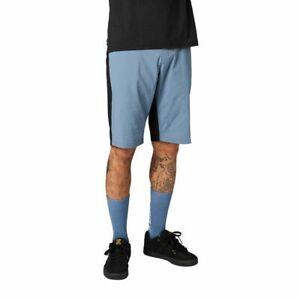 New Fox Mountain Bike Shorts - Matte Blue - Mens Size 38 - 25132-034-38