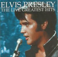 Elvis Presley - The Live Greatest Hits 2001 CD album