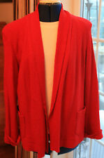 New Skorpi Wool & Viscose lined Red Jacket medium size 14 to 16 originally £179