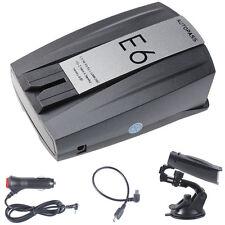 Elegant E6 Laser Speed Of 360° Voice Warning Car Electronic Dog Radar Detector