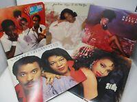 Lot of 5 R&B Soul Female LP Wholesale Millie Jackson Meli'sa Morgan