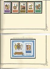 GRENADA 1977 ROYALTYSCOTT 788-92 ,793 MNH