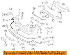 MERCEDES OEM 10-13 S550-Bumper Trim-Outer Molding Right 2218850221