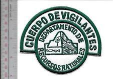 Puerto Rico Game Warden Conservation Officer Cuerpo DE Vigilantes Natural Resour