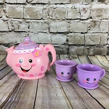 Fisher Price Laugh & Learn Say Please Musical Talking Tea Pot And 2 Tea Cups