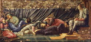 Edward Coley Burne Jones The Council Chamber Poster Giclee Canvas Print
