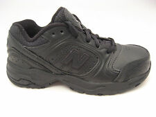 New Balance 623 Black Leather Walking Running Shoes 12 M Youth Boys Kids 12K NEW