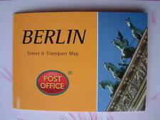 BERLIN - Street & Transport Map Pocket Guide Pop-Up NEW
