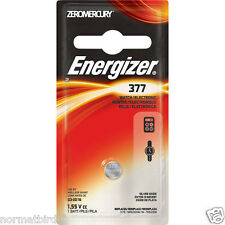 Energizer 377BP = ENERGIZER 377 BATTERY 1-PKZERO  New