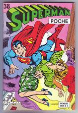 ! SUPERMAN POCHE N°38 (avec BATMAN) en TRES BON ETAT !