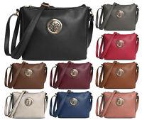 Multi Pocket Womans Crossbody Shoulder Bag Travel Holiday Handbag Smart Work Bag