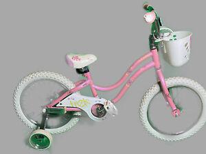 "Trek Mystic Kids 16"" Bike W/ Training Wheels (Pink/White)"