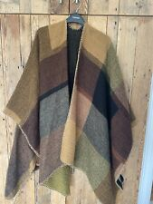 Topshop Brown Camel Cape Poncho Soft Feel Cardigan Boho Retro One Size Towie