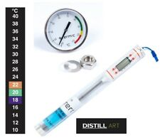 Thermometer Home Brew Distiller Wine Beer Spirit Selection FREE FAST