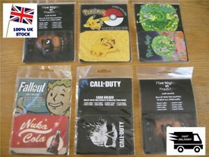 ID Card Holder Travel Pass / Oyster - Various POKEMON Call of Duty FALLOUT