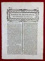 George Washington 1777 USA New-York Philadelphie Pennsylvanie Alsace Saint Gery