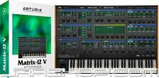 Arturia Oberheim Matrix 12 V2 Virtual Analog Synth Plugin eDelivery JRR Shop