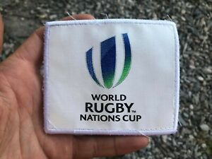 Original WORLD RUGBY NATIONS Cup shirt patch