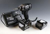 Hitachi Koki 18V cordless impact driver WH18DDL2 (NN) (B) body only From Japan