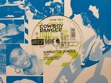 "COWBOY RANGER - GANGSTER JUNGLE 12"" MIX EX- UK 1995 GREENSLEEVES GRED 5006"