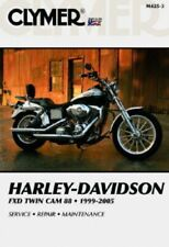 1999-2005 Harley Davidson Dyna Glide Twin Cam Clymer Motorcycle Repair Manual.