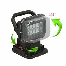 50W LED Search Light with Remote and Magnetic Base - 360 Degree