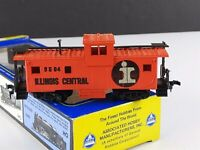AHM 5485 I Illinois Central Extended Vision Caboose 9504 HO Scale