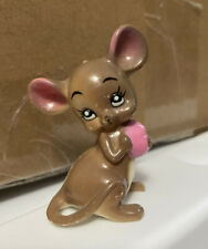 "New listing 2"" Vintage Figurine Mouse Village By Josef Originals (Valentine Mouse)"