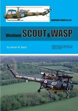 warpaint Series book No. 110 Westland Scout & Wasp by Adrian M. Balch 50 Pages.
