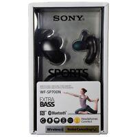 Sony WF-SP700N Sports True Wireless Noise Canceling Earbud Headphones - Black