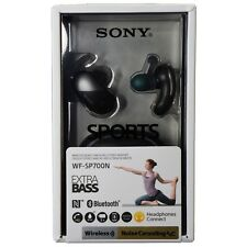 Sony WF-SP700N Sports True Wireless Noise Canceling Earbud Headphones - Black